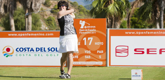 Becky Brewerton, siempre brillante bajo el sol español (foto de Felipe Pérez)