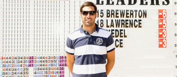 Álvaro Quiros, en La Quinta Golf (foto de Felipe Pérez)