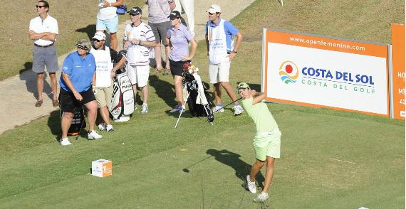 Ciganda se luce en el Open de España (foto de Felipe Pérez)
