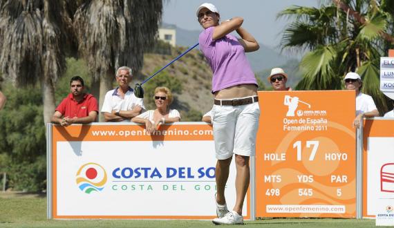 Tania Elósegui, mejor española en el Open de España Femenino 2011 (foto de Felipe Pérez)