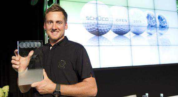 Poulter, bicampeón en el torneo organizado por Schüco