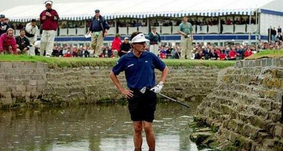 Jean Van de Velde y Carnoustie en 1999: cómo tirar por la borda un Open Championship