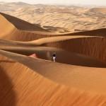 Donald, en su reto desértico en la previa del Abu Dhabi HSBC Golf Championship