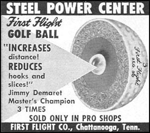 La bola con núcleo de acero
