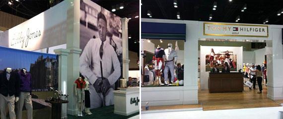 Bobby Jones y Tommy Hilfiger en el PGA Merchandise Show