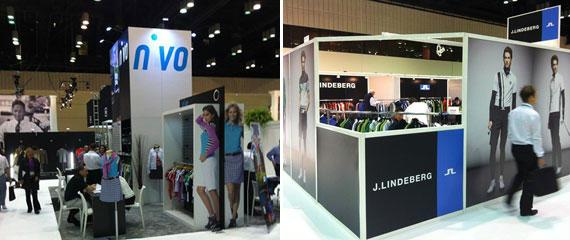 Nivo y J. Lindeberg en el PGA Merchandise Show