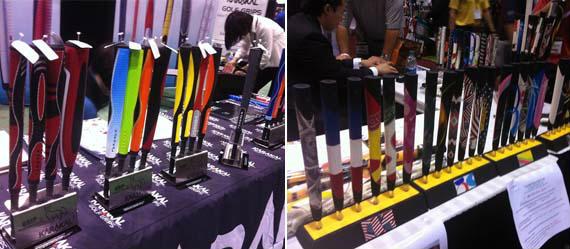 Grips de todos los colores en el PGA Merchandise Show
