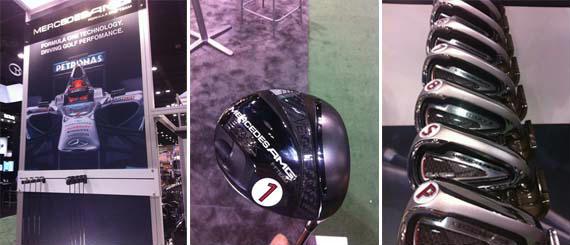 Mercedes desembarca en el mundo del material duro de golf