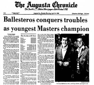 Portada del The Augusta Chronicle