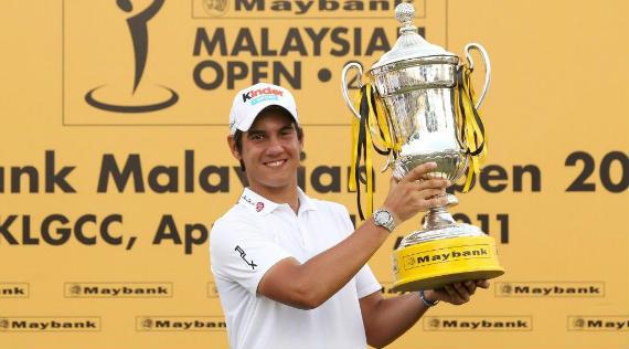 Matteo Manassero, vigente campeón del Maybank Malaysian Open (foto cortesía del Asian Tour)