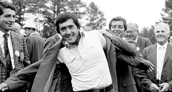 Seve, el campeón más joven del Masters en 1980
