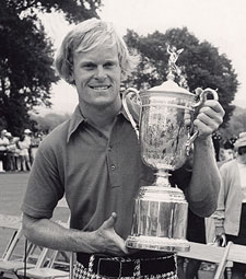Johnny Miller, campeón en 1973