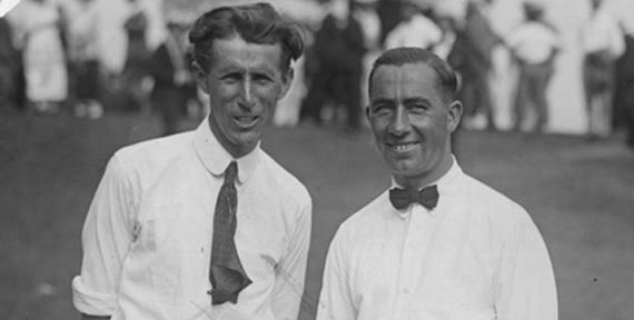 Jim Barnes y Ben Hogan, dúo de leyenda