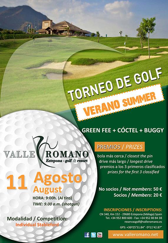 Torneo de verano en Valle Romano Golf2