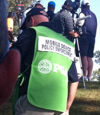 La Mobile Device Policy Enforcing Unit, unidad de élite en la Ryder Cup