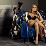 Las fotos Ryder más llamativas de Sophie Horn (foto cortesía de Golfing World)