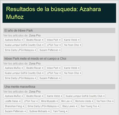 Búsqueda de Azahara Muñoz
