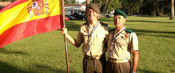 Goyo y Avelino, representantes del Ejército de Tierra