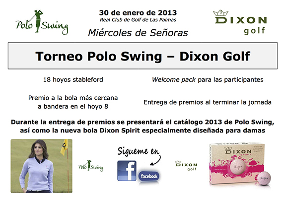 Cartel Torneo PoloSwing-DixonGolf
