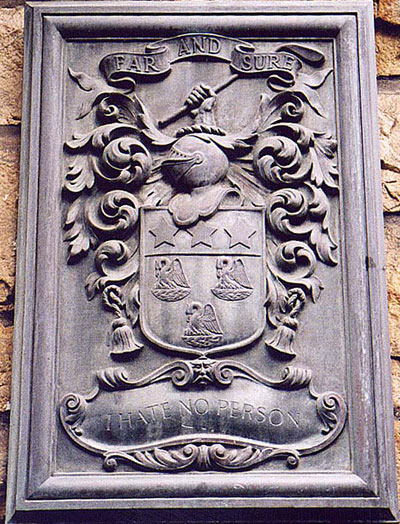 Escudo heráldico de de John Patersone