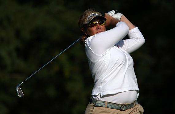 Karen Stupples durante el Canadian Open de 2007