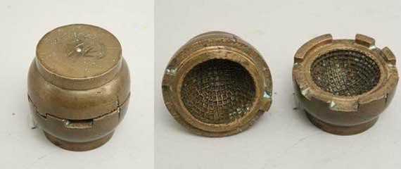 Uno de los muchos moldes utilizados para elaborar bolas de gutapercha (foto © www.sportantiques.co.uk)