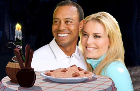 Tiger Woods y Lindsey Vonn confirman su relación2
