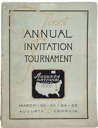La primera invitación para Augusta