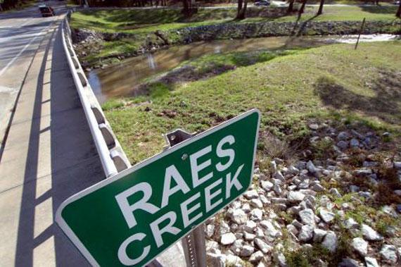 El celebérrimo e histórico Rae's Creek