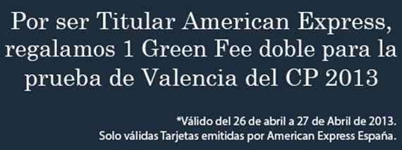 Oferta de American Express para la prueba del Circuito Premium en El Bosque