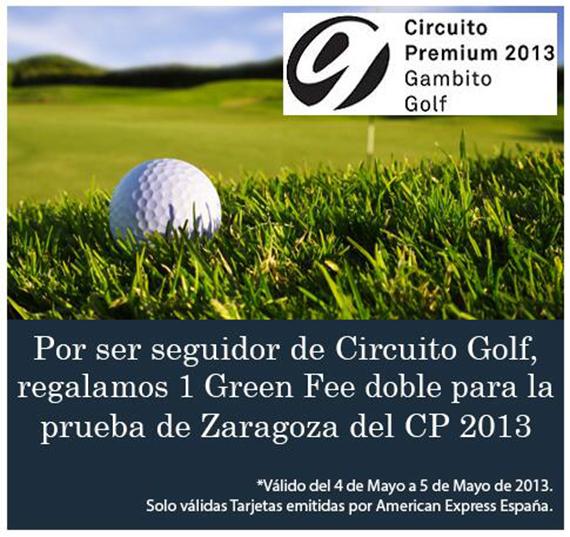 Promoción de Circuito Golf en Los Lagos (Zaragoza)