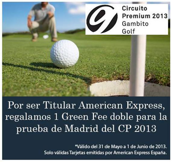 Oferta de Circuito Golf para jugar el Circuito Premium en Retamares