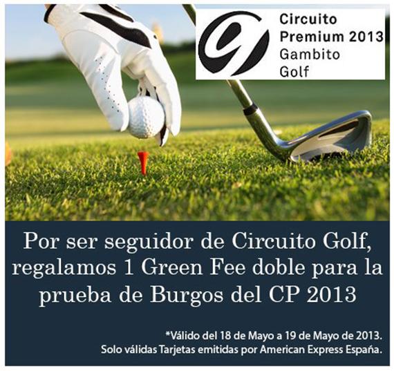 Oferta de Circuito Golf para el Circuito Premium en Lerma