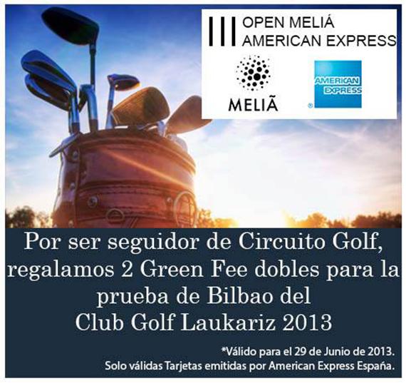 Oferta de Circuito Golf para jugar en Laukariz