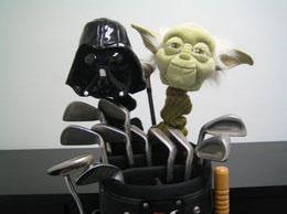 Fundas de Darth Vader y Yoda