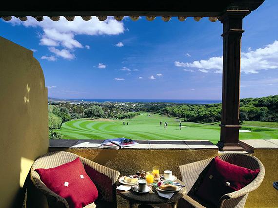 Vistas del Hotel Almenara al campo de golf