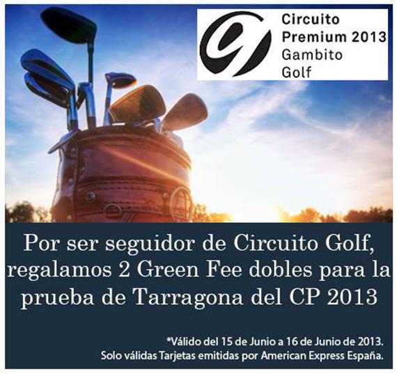 Oferta de American Express para jugar en el Club de Golf Costa Dorada Tarragona