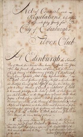 Actas del 7 de marzo de 1744