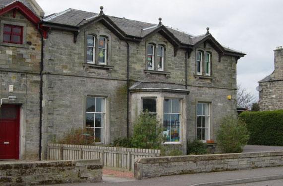 Aspecto actual de la casa club de The Honourable Company of Edimburgh Golfers en Musselburgh