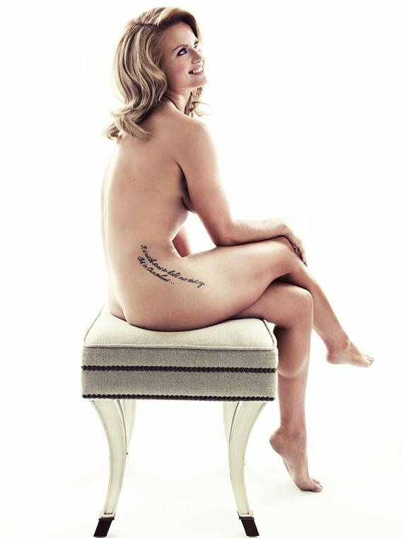 Carly Booth, desnuda en The Body Issue
