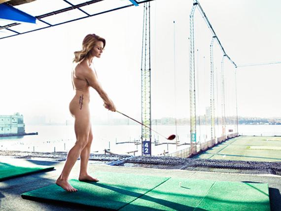 Carly Booth, desnuda en The Body Issue2