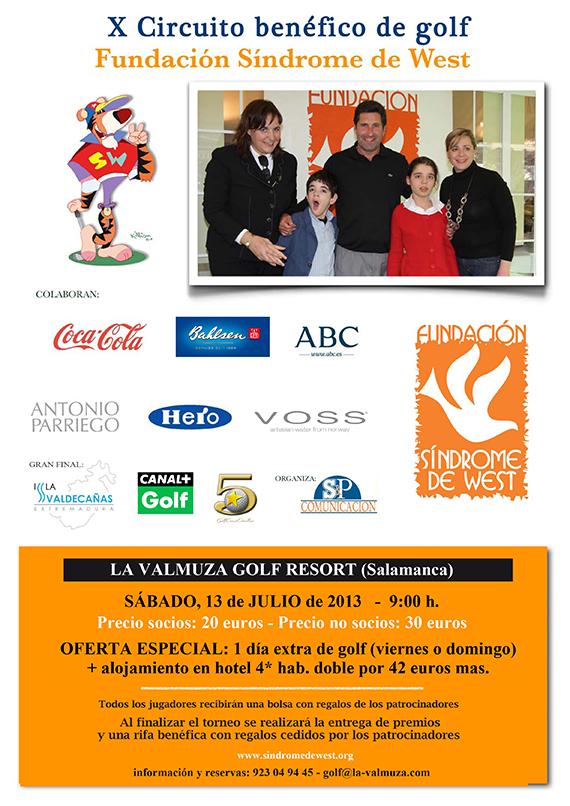 Cartel completo del torneo del Circuito Fundación Síndrome de West en La Valmuza