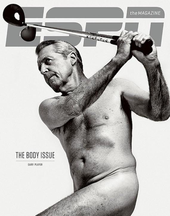 Gary Player, en la portada de la ESPN Magazine