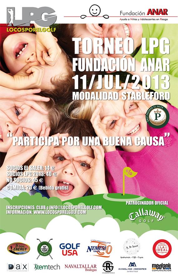 Cartel del Torneo LPG Fundación Anar