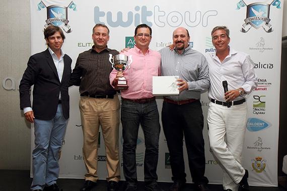 Alberto Yuste, ganador del Twittour de Mondariz