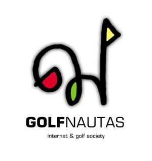 Nuevo logo de GolfNautas de Mike Belindo