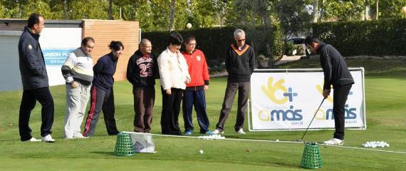 Clínic impartido por la Federación de Golf de Madrid