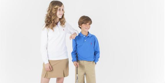 Polos manga larga junior de Polo Swing