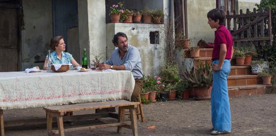 Fotograma de la película de Seve