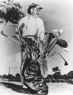 Kirkwood y su curiosa bolsa de palos